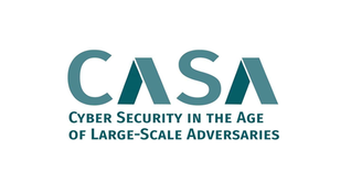 Logo CASA – Cyber Security in the Age of Large-Scale Adversaries