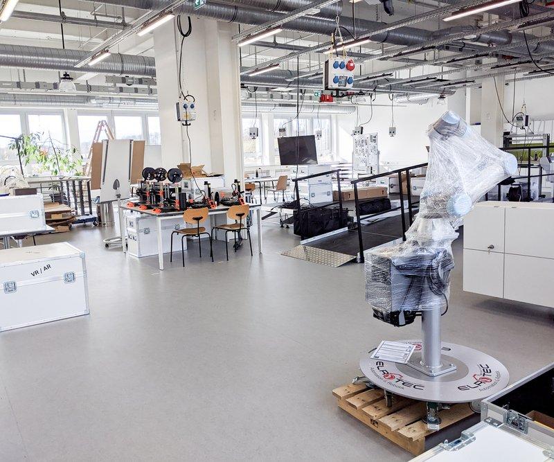 Ausstattung des RUB-Makerspace
