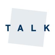 """Icon mit Aufschrift """"Talk"""""""